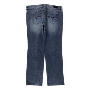 Vigoss  Medium Wash Stretch Stitching Denim Jeans